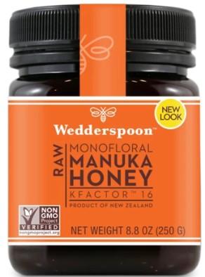 Miere de Manuka - RAW - KFactor 16 - Wedderspoon - 250 g