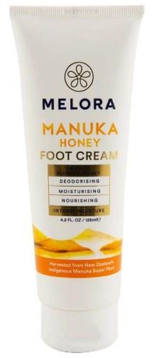 Crema pentru picioare cu Miere de Manuka si suc de aloe vera - BIO - Melora - 125 ml