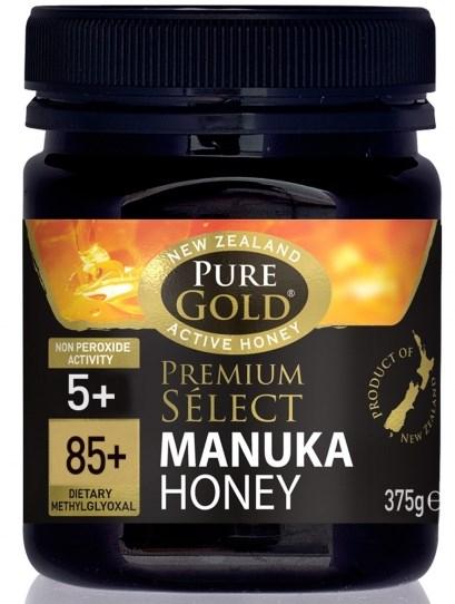 Miere de Manuka MGO 85+ - Pure Gold - 375 g