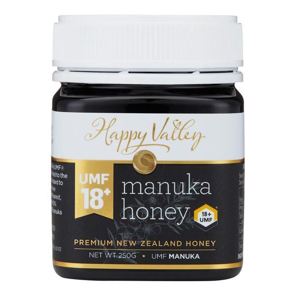 Miere de Manuka Premium UMF 18+ (echivalent MGO 700+) - Happy Valley - 250 g