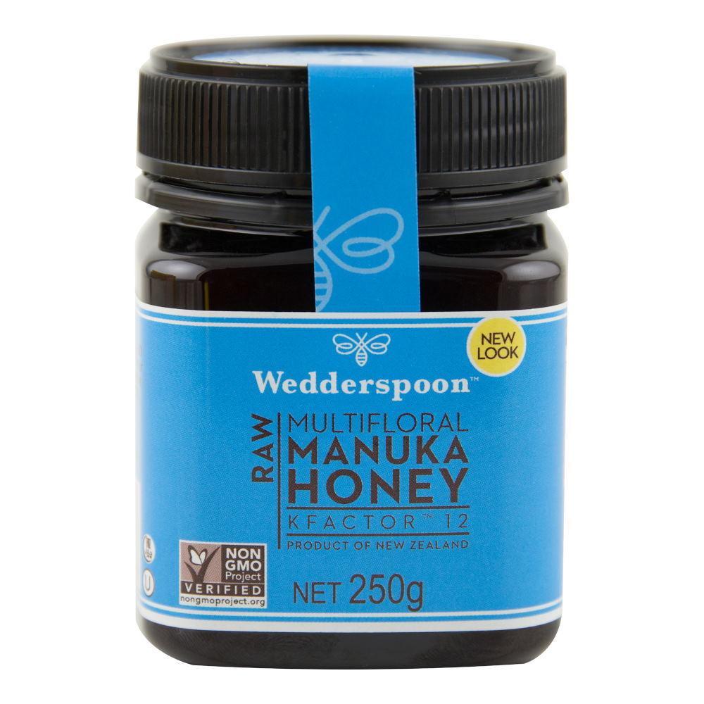 Miere de Manuka - RAW - KFactor 12 - Wedderspoon - 250 g